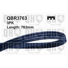 QUINTON HAZELL QBR3763 (31110PM3003 / 31110PM5A11 / 9091602205) ремень поликлиновой 3pk763
