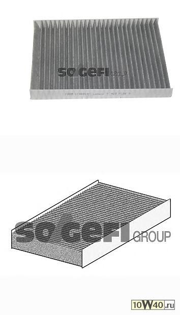 фильтр салона угольный\ VW golf 4 / bora, audi a3 / tt 1.4i-1.9sdi / tdi 96>