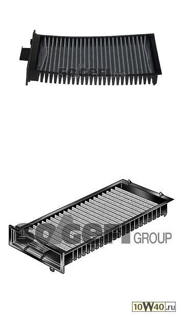 фильтр салона угольный\ citroen c5 1.8-3.0 / hdi 01>