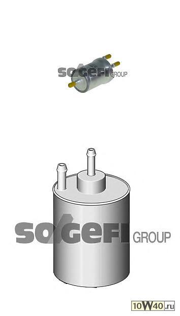 фильтр топливный\ audi a3, seat altea / ibiza / toledo, VW golf V / touran / jetta 1.4 / 1.6 / 3.2 03>