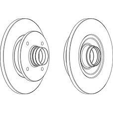 FERODO DDF1141 (MB668083 / MB699964 / 58411M2050) диск тормозной ( комплект - 2 шт.)