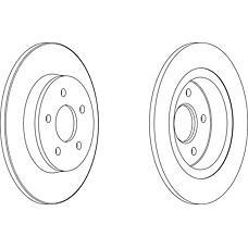 FERODO DDF1227 (30666802 / 1253962 / 30769113) диск тормозной