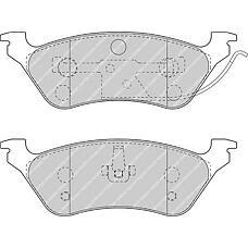FERODO fdb1475 (5019805AA / 5071948AA / 05071948AA) колодки торм.дисковые