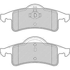 FERODO FDB1524 (05011970AB / 05011970AA / 5011970AB) колодки дисковые з. Jeep (Джип) grand Cherokee (Чероки) 2.7cdi-4.7i / 3.0td 99>