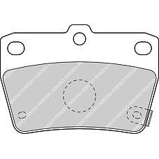 FERODO FDB1531 (0446642020 / 0446642030 / 0446642050) колодки дисковые з.\ Toyota (Тойота) rav4 1.8 / 2.0 wti / 2.0d 00>