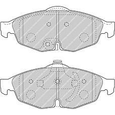FERODO FDB1550 (5018945AA / 68020494AA / 5018942AA) колодки дисковые п.\ Chrysler (Крайслер) sebring 2,0 / 2,4 / 2,7 01>