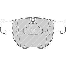 FERODO FDB1597 (SFC500050 / SFC000010 / SFC500080) колодки тормозные дисковые (premier)