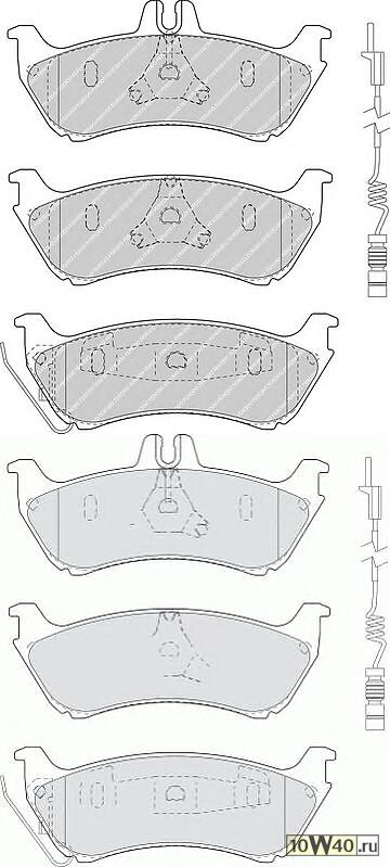 Колодки тормозные дисковые (Premier)