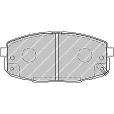FERODO FDB1869 (581011HA00 / 0K2JA3328Z / 581011HA10) колодки тормозные передние Hyundai (Хендай) i30 / Kia (Киа) ceed, Cerato (Серато) II