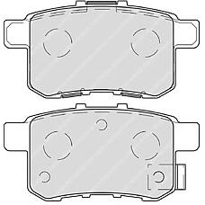 FERODO FDB4198 (43022TL1G01 / 43022TA0A00 / 43022TA0A70) колодки тормозные дисковые задние Honda (Хонда) Accord (Аккорд) 2.0-2.4 мкпп