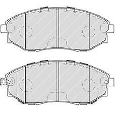 FERODO FDB4304 (96475027 / 96952179 / 96496765) колодки дисковые п.\ Chevrolet (Шевроле) epica 2.0-2.5i / 2.0d 05>