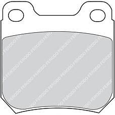 FERODO FDB973 (1605883) колодки тормозные дисковые
