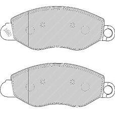 FERODO FSL1461 (4114749 / 4095132 / 1144288) колодки тормозные дисковые