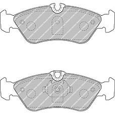 FERODO FSL1876 (0024204020 / 2D0698451 / 0024206020) колодки тормозные дисковые