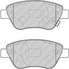 FERODO FSL1920 (1605359 / 1605353 / 93189815) колодки тормозные дисковые