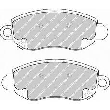 FERODO FVR1381 (4077636 / 1135167 / YC152K021AC) колодки тормозные дисковые