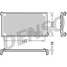DENSO DCN09011 (46809637) конденсор