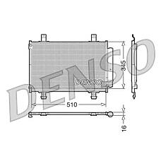 DENSO DCN47010 (9531062J00 / 9531062J10) конденсор dcn47010