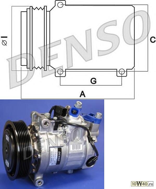 компрессор кондиционера audi a6-allroad-avant bdw 04-