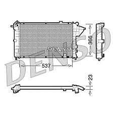 DENSO DRM20023 (1300084 / 3096381 / 13000843096381) радиатор drm20023