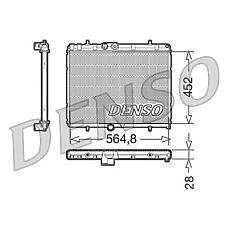 DENSO DRM21057 (1330F5 / 1330J7 / 1330W2) радиатор drm21057