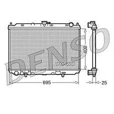 DENSO DRM46016 (92100BM405 / 21410BU100 / 21410BU101) радиатор системы охлаждения