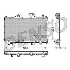 DENSO DRM50031 (164000D080 / 164000D100 / 350213E11) радиатор