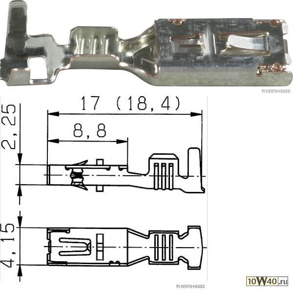 FEBI BILSTEIN 1310 натяжитель приводного ремня Mercedes 210 / 124 / 202 / 140 / sprinter.