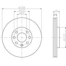 MINTEX mdc1049 (569059 / 9117677 / 90497879) диски торм.