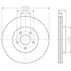 MINTEX mdc1503 (4179398 / 4181042 / C2S4566) диски торм.