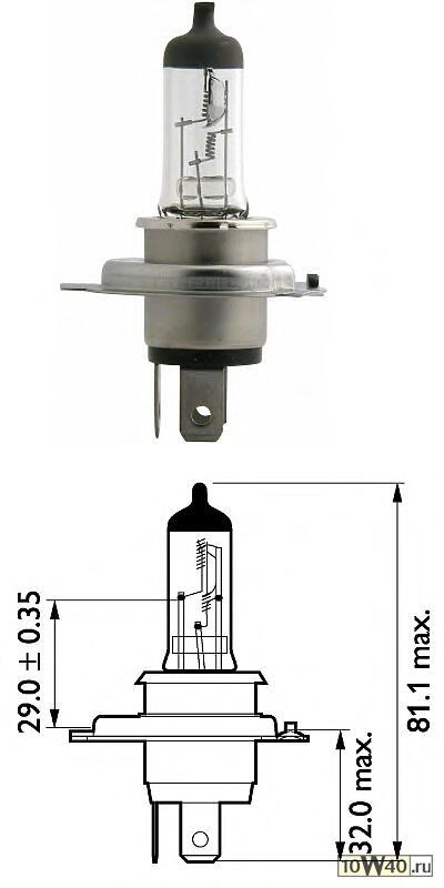 Лампы накаливания, комплект