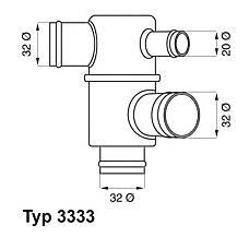 WAHLER 3333.87 (21081306010 / 210801306010 / 21081306011) термостат