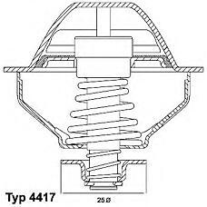 WAHLER 410289.81D (504031212 / 504258346 / 504320545) термостат
