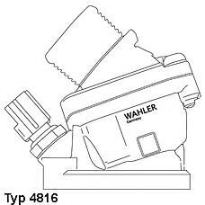 WAHLER 4816.90d (30637217 / 30650022 / 30777475) термостат Volvo (Вольво) s60 / 80 v70 xc90 01-