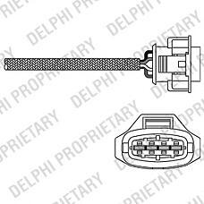 DELPHI ES10791-12B1 (855355 / 855402 / 93177169) датчик кислородный