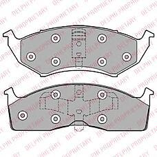 DELPHI LP1166 (4882107 / 4773264 / 4762682) колодки дисковые п.\ Chrysler (Крайслер) vision 3.5 93-94 / Neon (Неон) 1.8 / 2.0 94-99