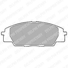 DELPHI LP1559 (45022S2AE50 / 45022S2AE01 / 45022S5TE00) колодки тормозные дисковые, комплект