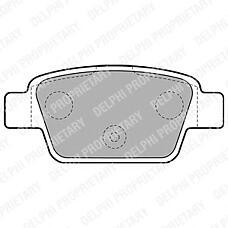 DELPHI LP1719 (77362768 / 9949280 / 77363518) колодки дисковые з.\ Fiat (Фиат) stilo / multi wagon 1.2i-1.9jtd 01>