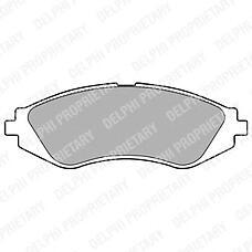 DELPHI LP1779 (96245178 / 96495227 / 96253367) колодки тормозные дисковые передние Chevrolet (Шевроле) Lanos (Ланос) / Lacetti (Лачети) / rezzo / Daewoo (Дэу) Nexia (Нексия) / nubira / leganza