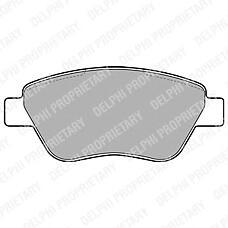 DELPHI LP1899 (77362548 / 77364393 / 77363942) колодки дисковые п.\ Fiat (Фиат) idea 1.2i / 1.4i / 1.3jtd 03>