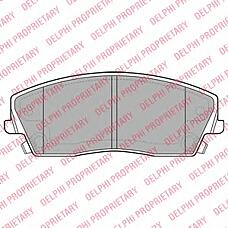 DELPHI LP2034 (05142555AA / 05174001AA / 5142555AA) колодки дисковые п.\ Chrysler (Крайслер) 300c 2.7 / 3.5 / 5.7 04>