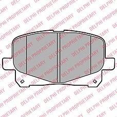 DELPHI LP2129 (0446528410 / 0446528460 / 0446528490) колодки дисковые п.\ Toyota (Тойота) Previa (Превия) acr3 2.0 d-4d / 2.4 16v vvt-i 03>
