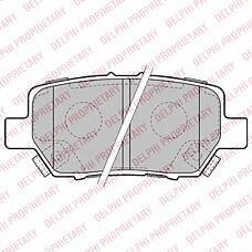 DELPHI LP2160 (43022SJAE00 / 42510SJA000 / 43022SJAE01) колодки тормозные дисковые, комплект