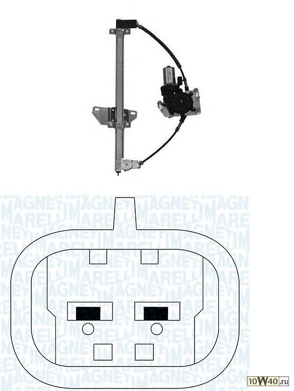 стеклоподъемник электр пер. п.\ nissan almera n16 00>