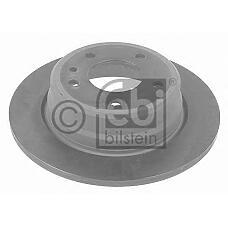 FEBI BILSTEIN 10754 (34211157360 / 34211165257 / 34211157361) диск тормозной задний\ BMW (БМВ) e32 3.0 / 3.5 m30 / m60 85-94