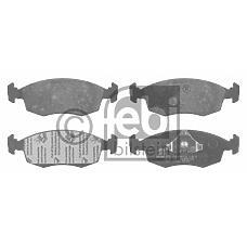 FEBI BILSTEIN 16021 (6704269 / 5023998 / 89GB2K021AB) колодки тормозные Ford (Форд) pkw