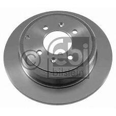 FEBI BILSTEIN 21122 (4246T6 / 4246L7 / 4246T7) диск тормозной задний\ Peugeot (Пежо) 406 1.8-3.0 99>