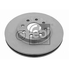 FEBI BILSTEIN 23541 (96312559 / 96286933 / 205012) диск тормозной передний\ Daewoo (Дэу) nubira all 97>