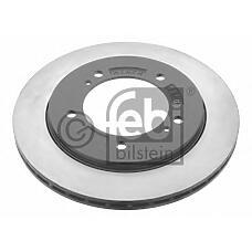 FEBI BILSTEIN 28438 (5521165D01 / 5521165D02 / 5521165D02000) диск тормозной передний\ Suzuki (Сузуки) grand Vitara (Витара) 1.6 / 2.0 98-05