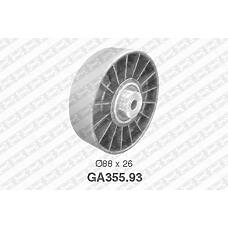 SNR GA355.93 (7439146139 / 9146139 / 91461392) ролик натяжной\ Renault (Рено) Laguna (Лагуна) / safrane 2.0 / 2.5 94>